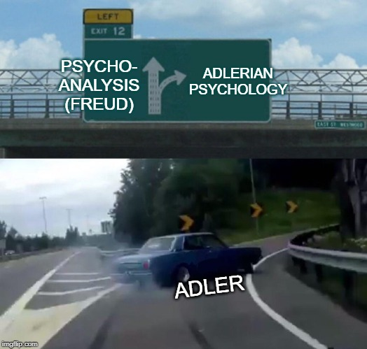 ADLERIAN PSYCHOLOGY; PSYCHO- ANALYSIS (FREUD); ADLER