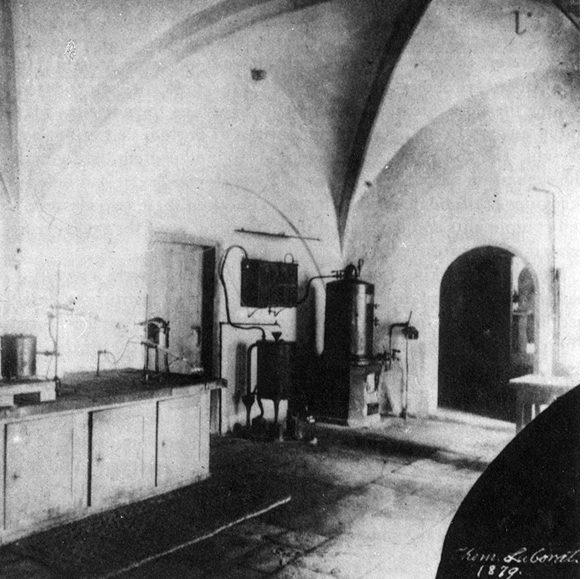 Friedrich Miescher's lab