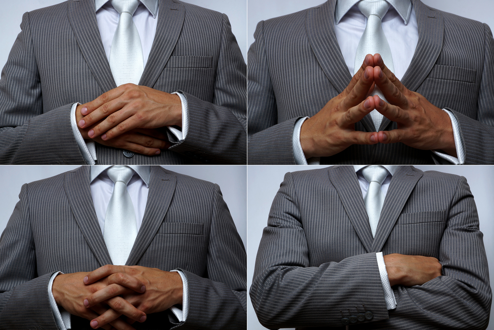 Hand position. Non-verbal communic - Image(IgorZD)s