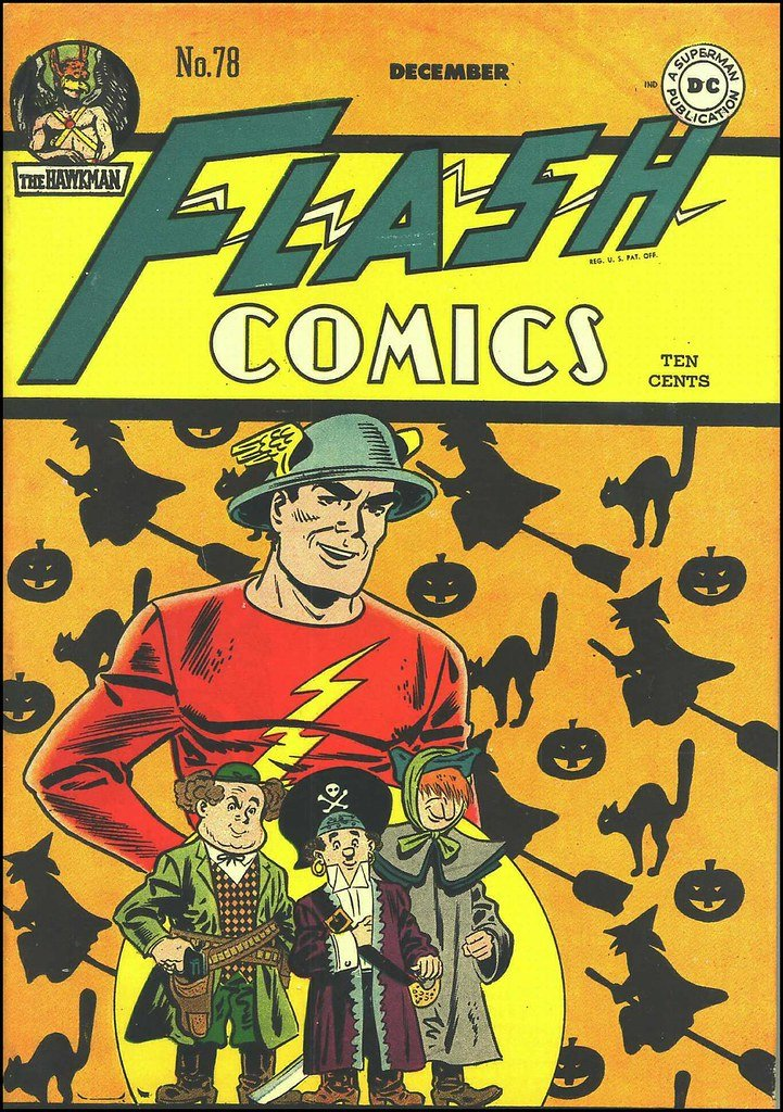 Jay Garrick, Flash Comics, December 1946.