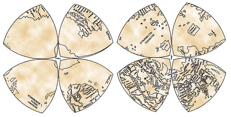 Leonardo da Vinci's Mappamundi