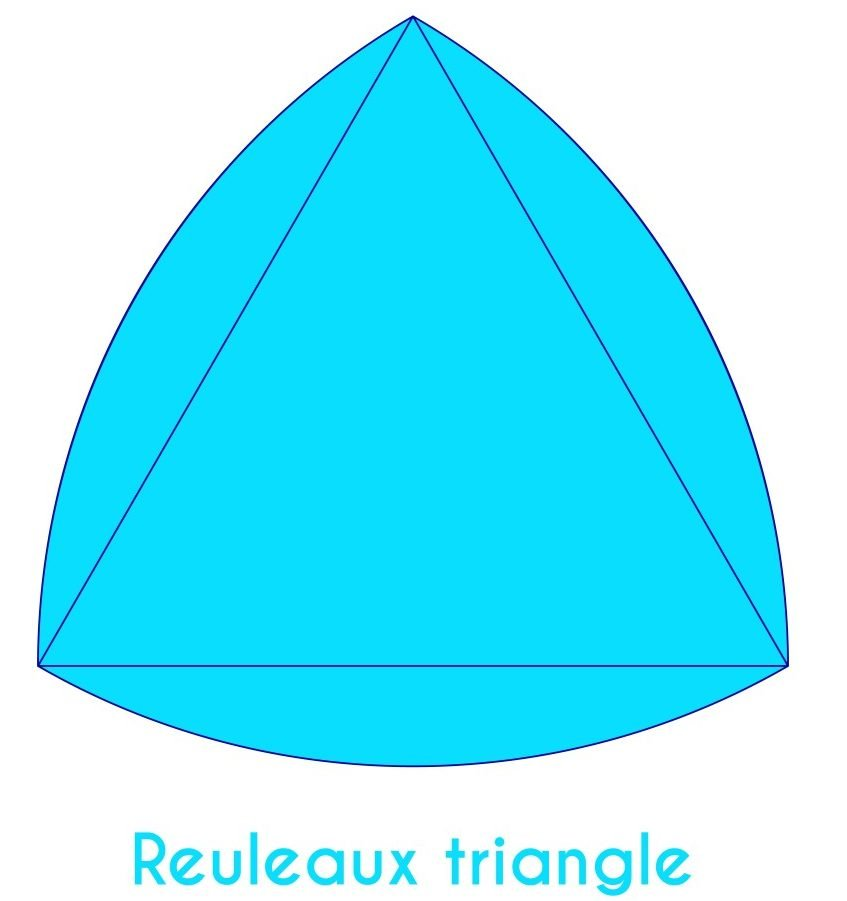 Light blue reuleaux triangle with short caption - Vector(Albisoima)s