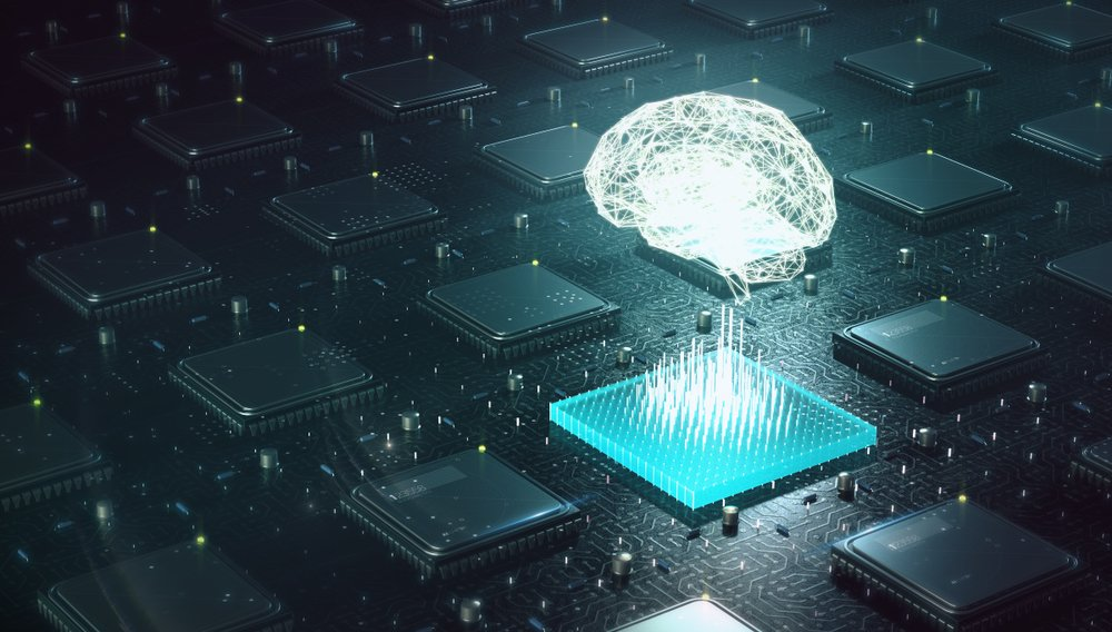 Machine learning , artificial intelligence, ai, deep learning blockchain neural network concept(archy13)s
