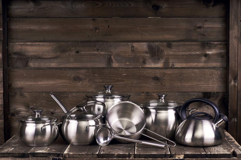 Stainless steel pots - Image( Dmitry_Tsvetkov)s