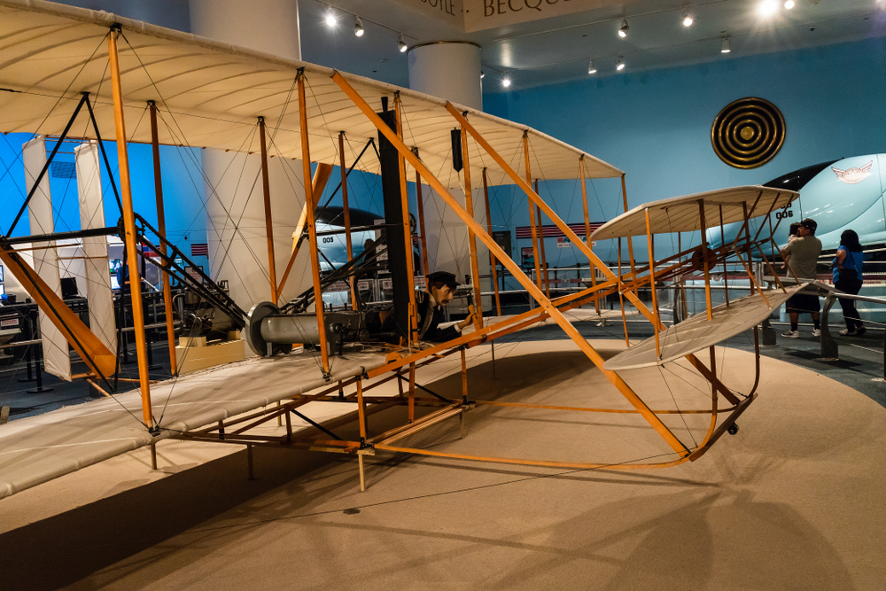 The Museum of Science and Industry features a replica version of the Wright Flyer( Joe Hendrickson)s