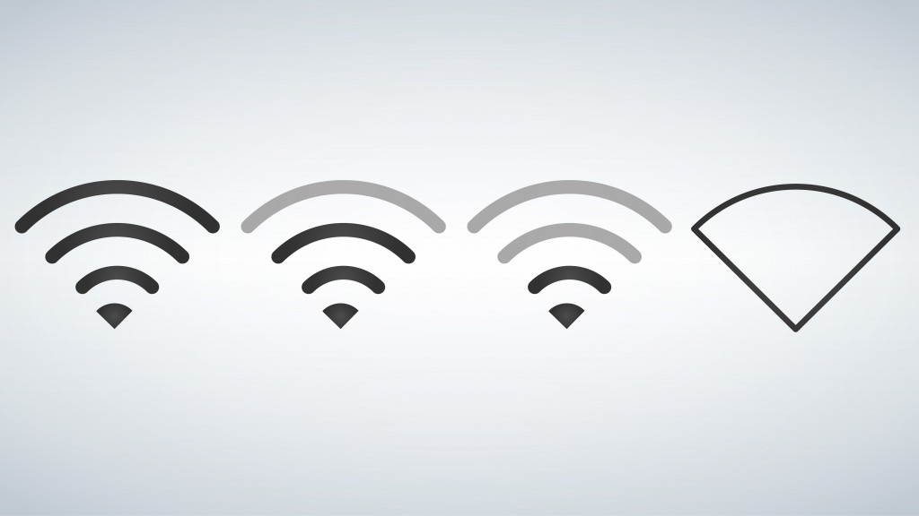 Wi-Fi icons levels. Signal strength indicator template, vector - Vector(Rido)s