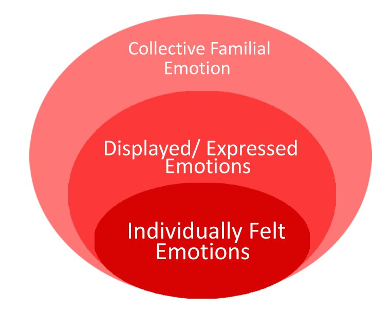 The ripples of emotion in a family