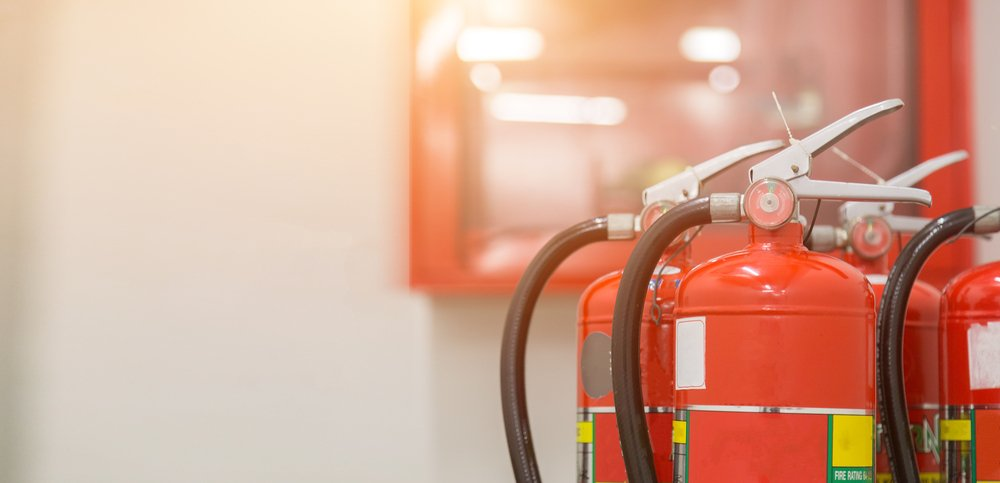 fire extinguishers available in fire emergencies. - Image(A_stockphoto)S