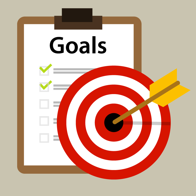 target goals vector icon success business strategy concept - Vector( Bakhtiar Zein)s