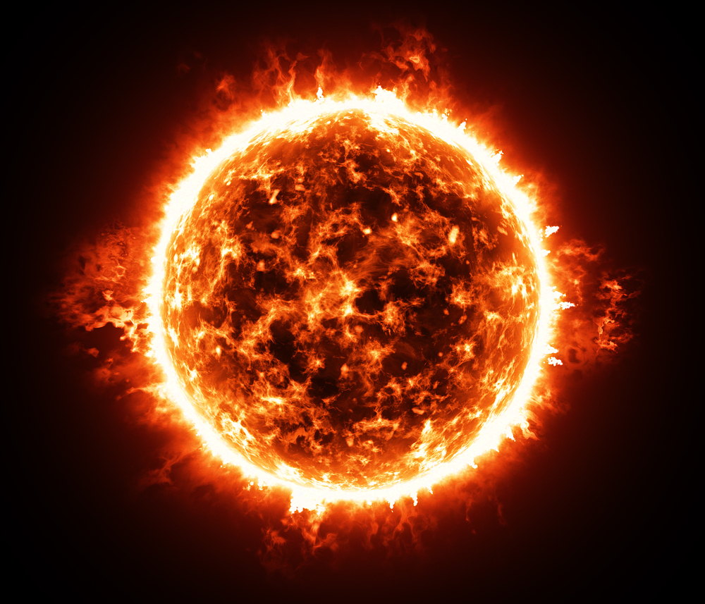Burning atmosphere of red giant star - Image(yurchak)s