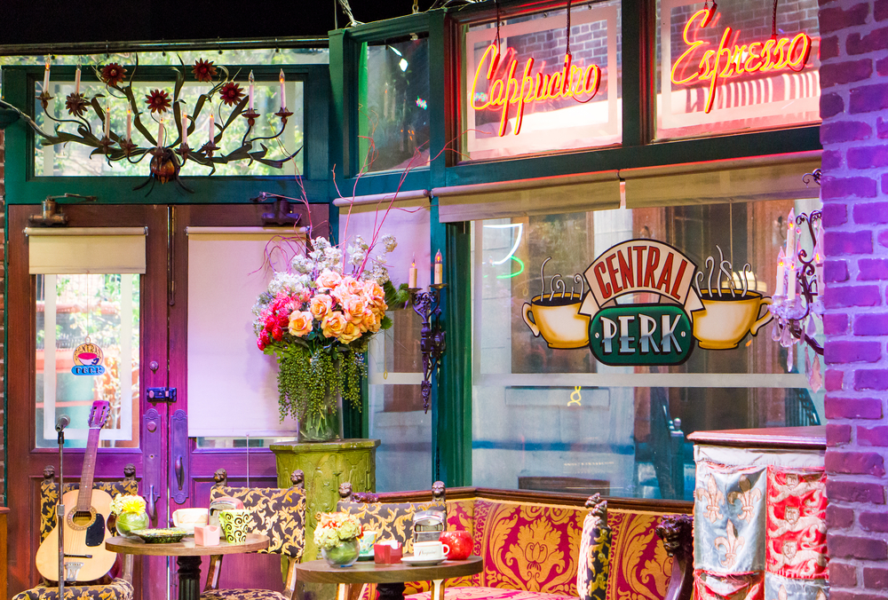 Central Perk cafe in the Warner Bros Studio Tour in Burbank( Tero Vesalainen)s
