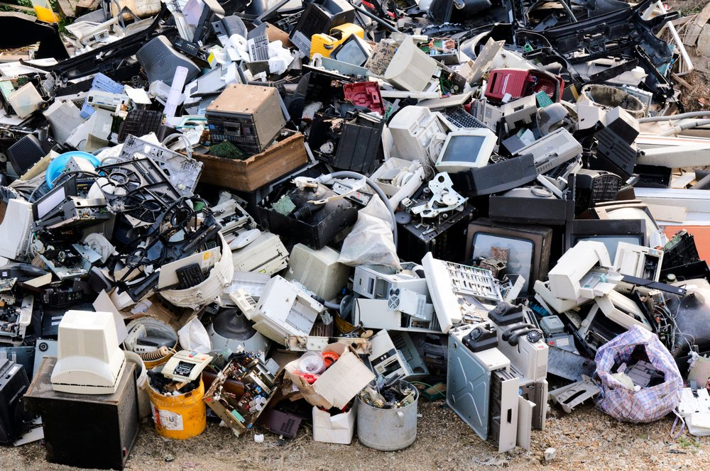Electronic waste ready for recycling - Image(ltummy)s