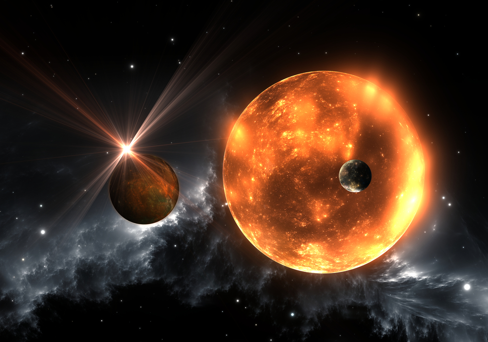 Extrasolar planets or exoplanets and red dwarf or red supergiant( Jurik Peter)s