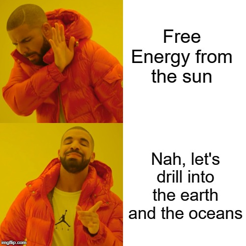 Free Energy from the sun meme