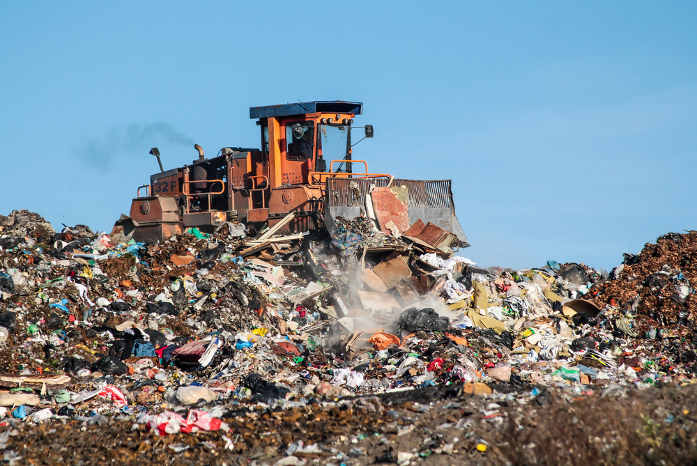The dump and the bulldozer - Image( Rokas Tenys)s