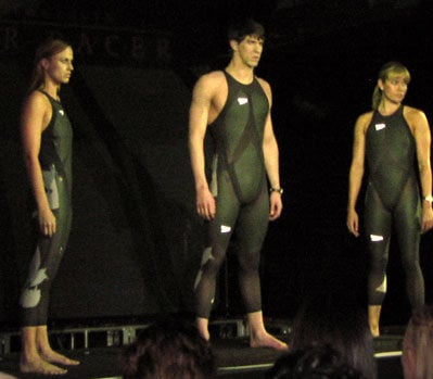 Unveiling of LZR Racer in NYC