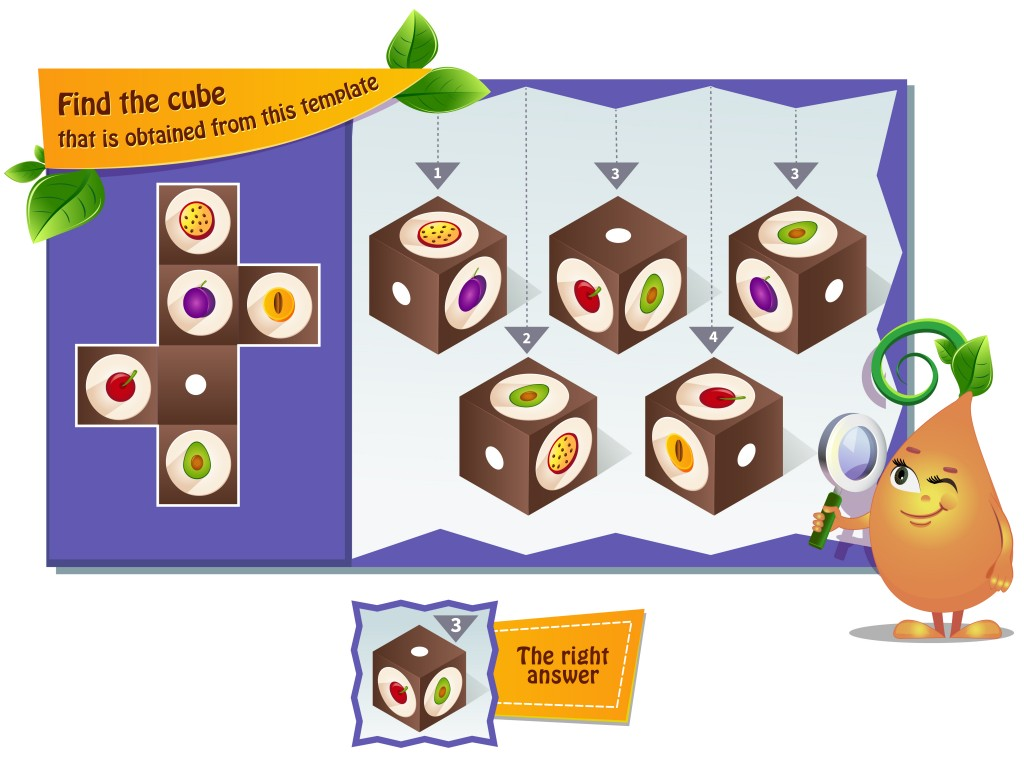 educational game for kids, puzzle. development of spatial thinking in children(rodnikovay)S