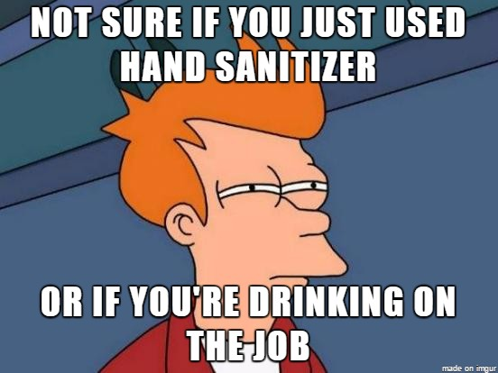 Since most hand sanitizers contain ethanol as the active ingredient, they are sometimes gulped by people looking for a cheap substitute for regular drinking alcohol. Manufacturers, therefore, add bitter-tasting compounds such as aminomethyl propanol to avoid such scenarios.