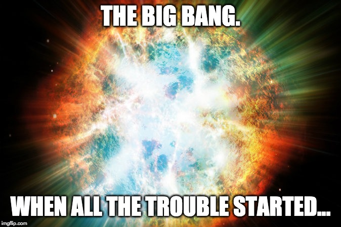 the big bang meme