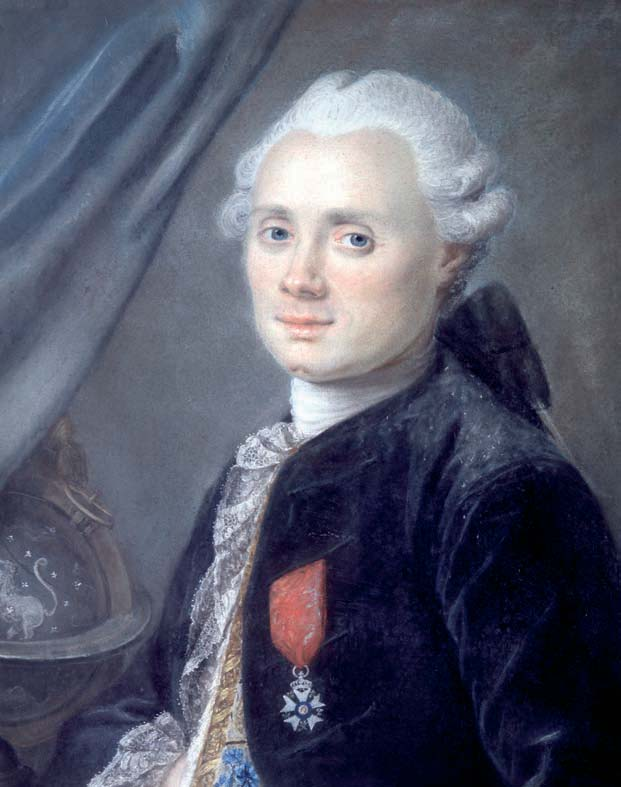 Charles Messier, French astronomer, at the age of 40