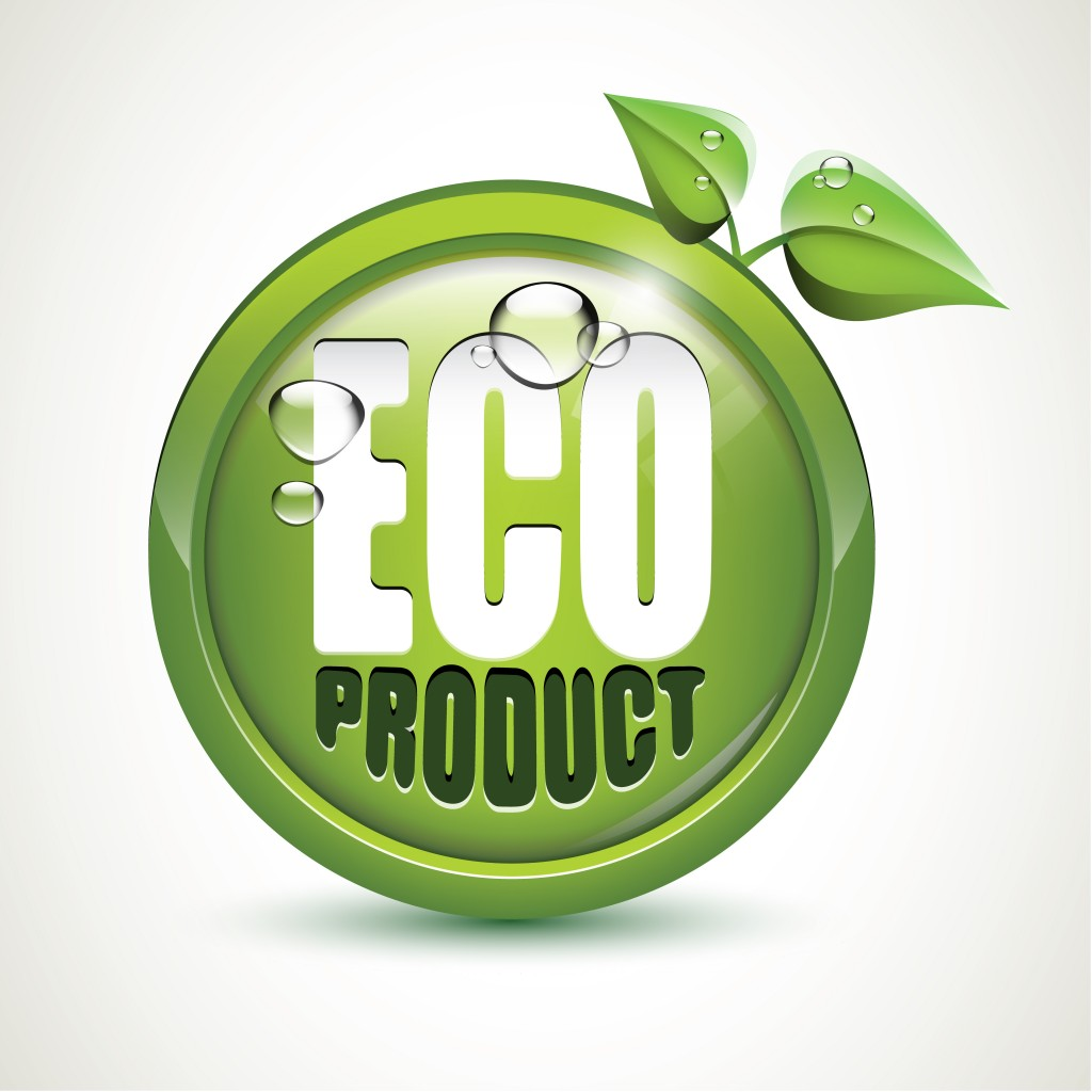 Eco product - glossy icon(Dominik Hladik)s