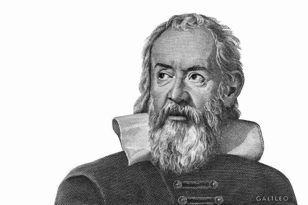 Galileo Galilei from Italy money. Genius inventor, philosopher, astronomer, mathematician( Prachaya Roekdeethaweesab)s