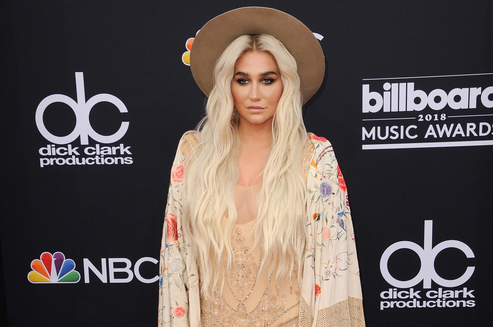 Kesha at the 2018 Billboard Music Awards held at the MGM Grand Garden Arena in Las Vegas(Tinseltown)s