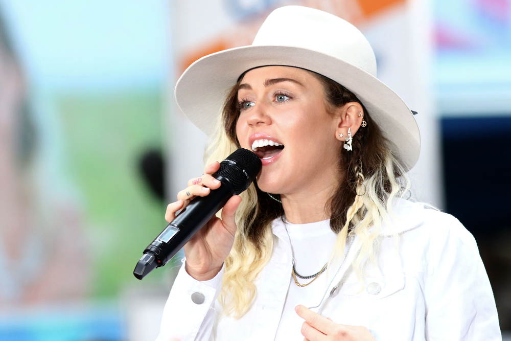 Miley Cyrus performs on the NBC Today show concert series on May 26, 2017(JStone)s