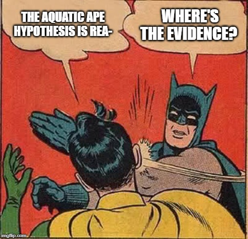 THE AQUATIC APE HYPOTHESIS IS REA WHERE'S THE EVIDENCE