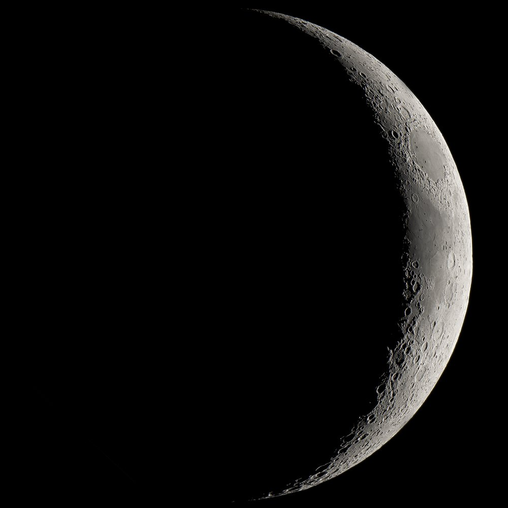 Waxing crescent moon(Matipon)s