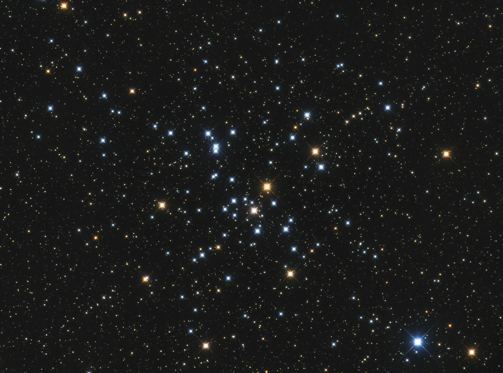 beautiful large open cluster in the constellation Canis Major located in the Southern sky( Tragoolchitr Jittasaiyapan)s