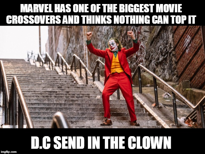 marvel has one of the biggest movie crossovers and thinks nothing can top it meme