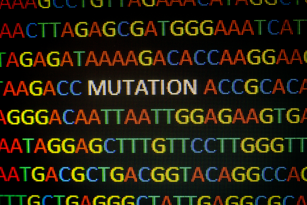 DNA sequence with colored letters( Catalin Rusnac)s