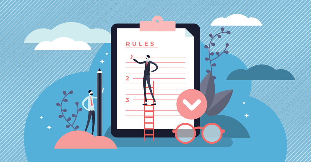 Rules vector illustration(VectorMine)s