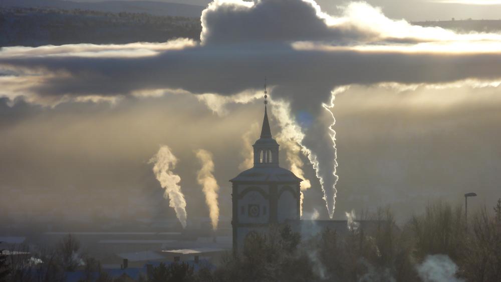 Visible temperature inversion in Røros Norway(ChuckNaage)S