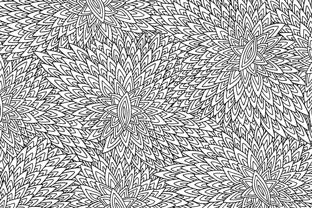 Zentangle ornament background(ADELART)s