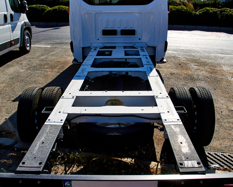 open truck chassis(multitel)s