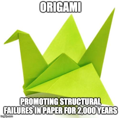 origami meme