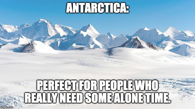 Antarctica meme