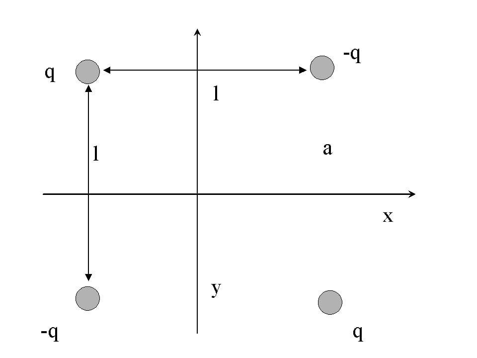 A simple electric quadrupole