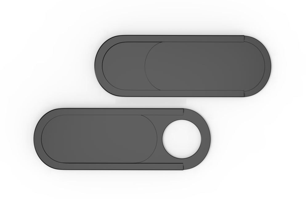 Blank Ultra Thin Webcam Cover for mock up and branding(GO DESIGN)s