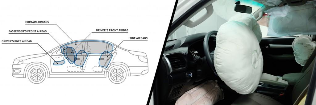 Car air bags vector illustration(AleksOrel)s