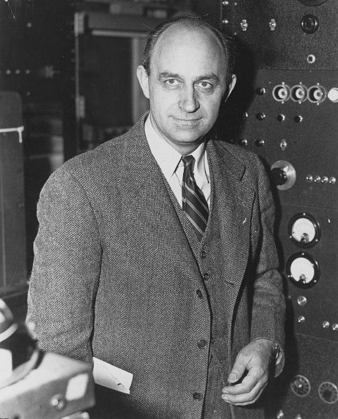 Enrico Fermi the renowned Italian physicist