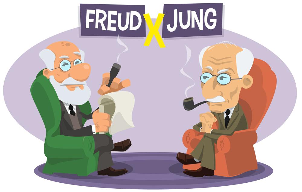 Freud versus Jung(Nantz)s