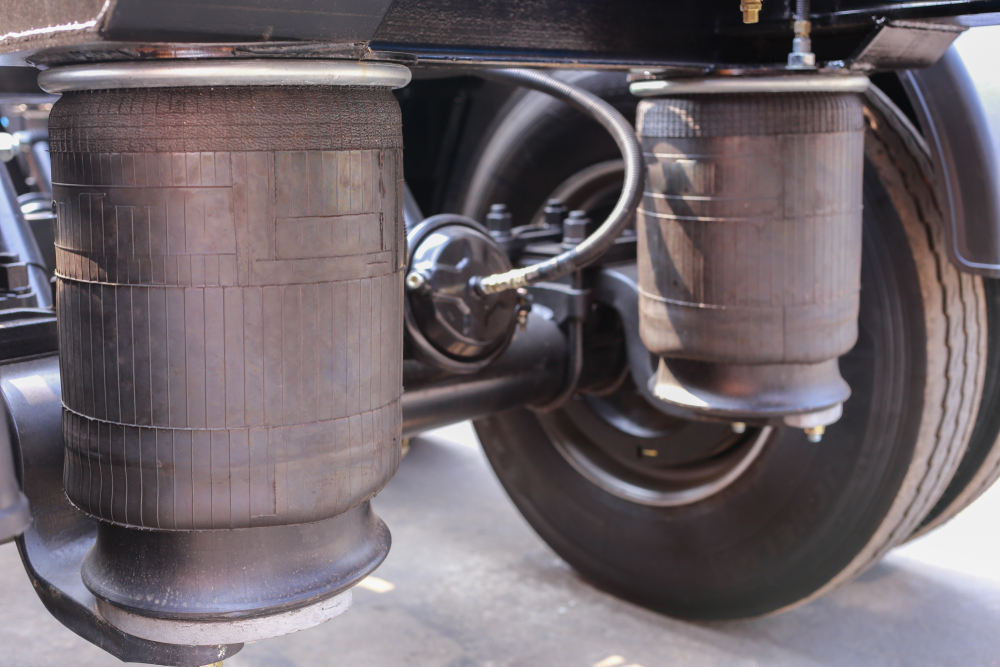 Trailer's air suspension system(Ake Apichai Chumsri)S