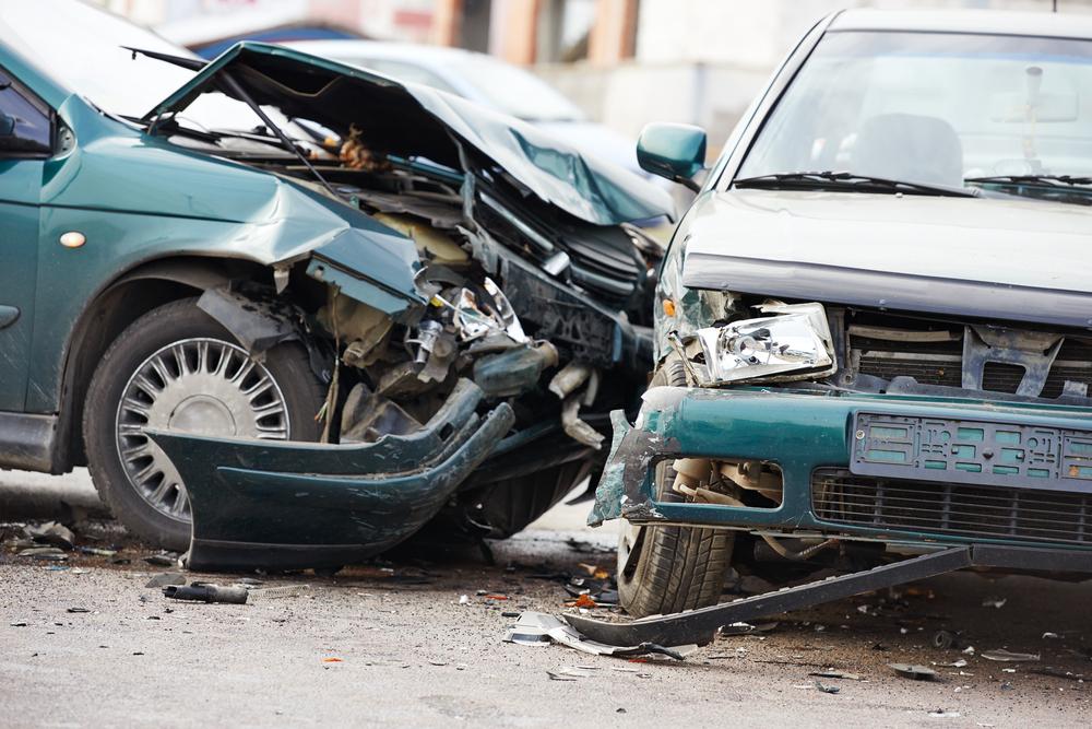 car crash accident on street(Dmitry Kalinovsky)S