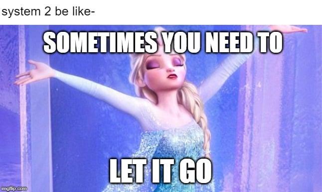 let it go elsa lazy meme