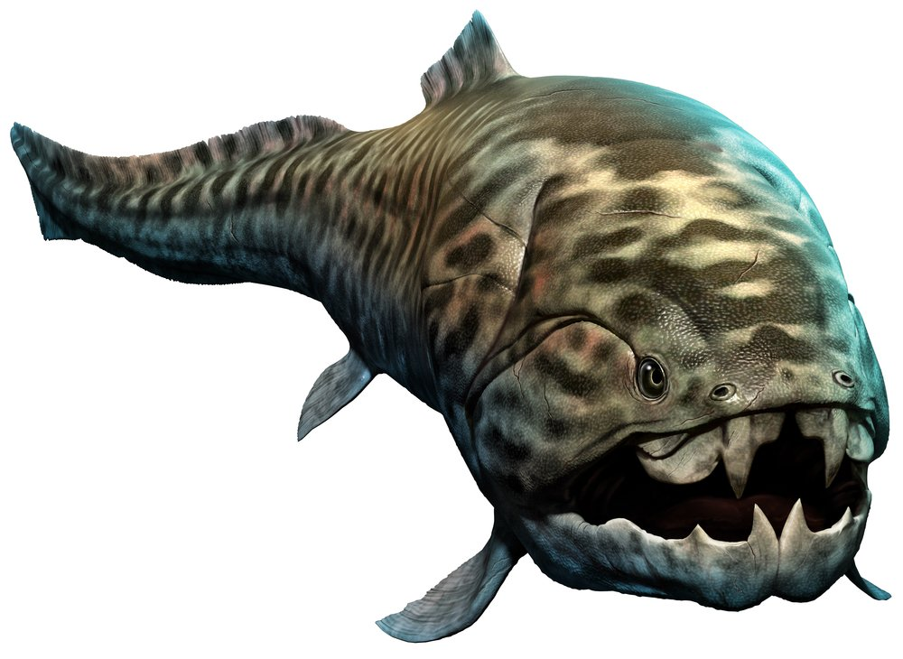 Dunkleosteus 3D illustration(Warpaint)s