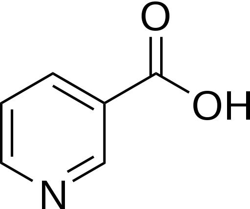 Niacin structure