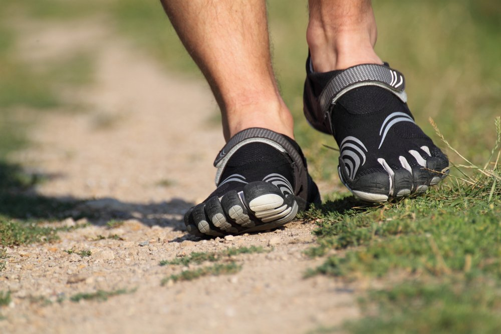Running with Vibram five fingers(Petra Davidova)s